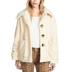 Free People Teddy Coat So SOFT
